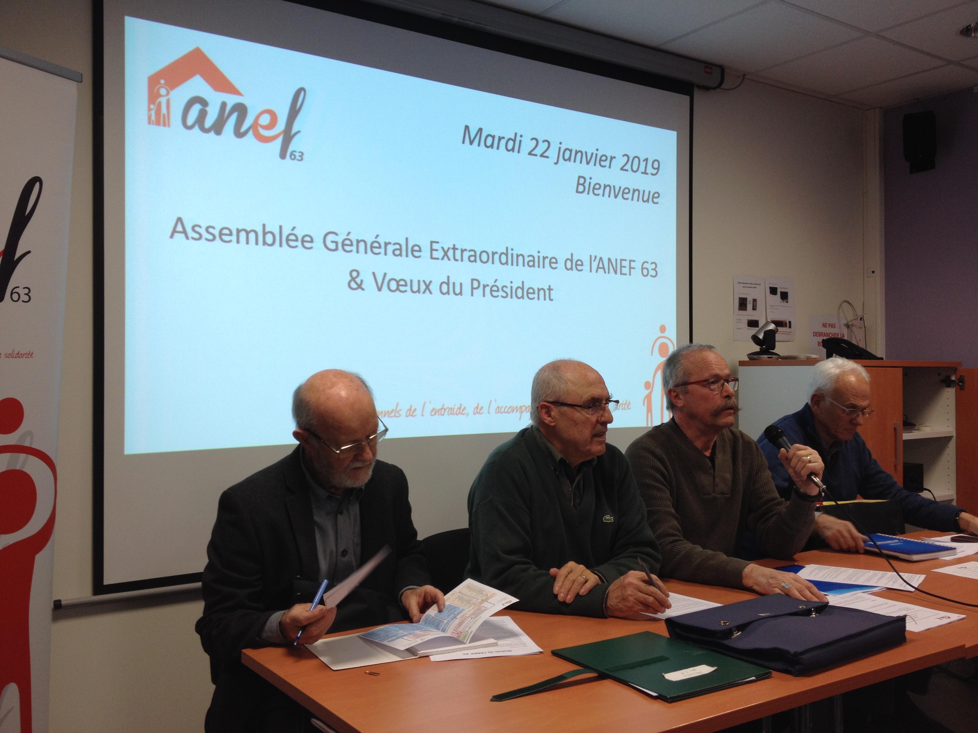 L'ANEF 63 adopte ses nouveaux statuts